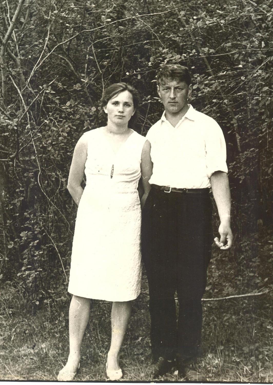 Тамара и Пётр Филатовы, 1970 г фото предоставлено В. С. Хромцовым
