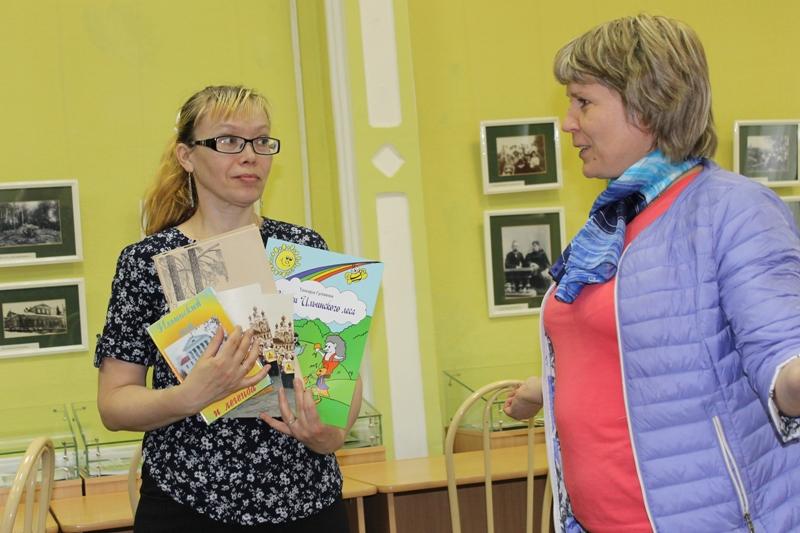 Книги в дар от Ильинской библиотеки