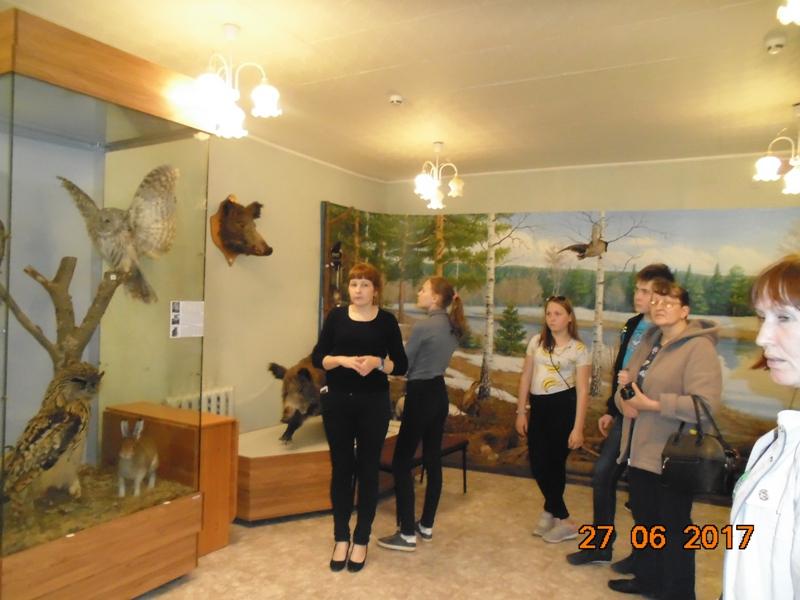 Экскурсия в Карагайский музей